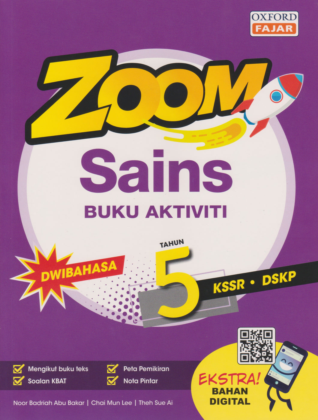 OxfordFajar: Zoom Sains / Science Dwibahasa Tahun / Year 5