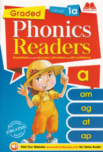 Load image into Gallery viewer, Scholar's: Graded Phonics Readers Level 1a - 3d ( 1 Set, 12 Books)