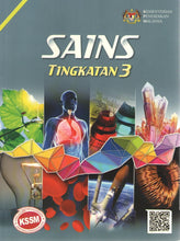 Load image into Gallery viewer, Sasbadi: Buku Teks Sains Tingkatan 3