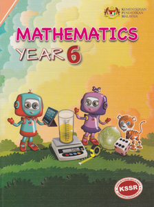 Buku Teks Mathematics Year 6 DLP Textbook