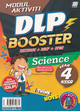 Load image into Gallery viewer, Sasbadi 2021: Modul Aktiviti DLP Booster Sains / Science Dwibahasa Tahun / Year 4