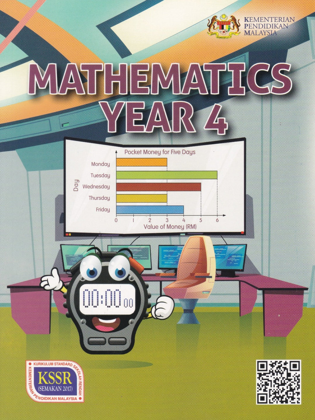 DBP: Buku Teks Mathematics Year 4 DLP Textbook