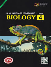 Load image into Gallery viewer, MustRead: Buku Teks Biology Form 4 DLP Textbook