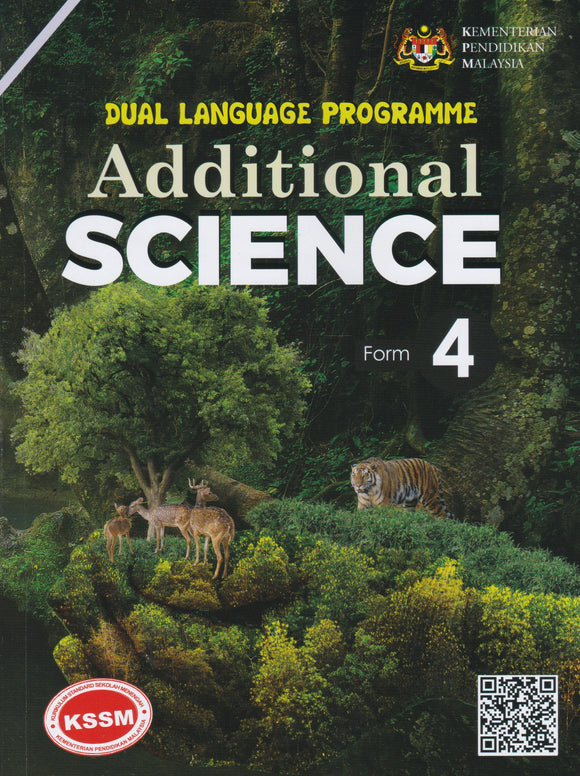 Buku Teks Additional Science Form 4 DLP Textbook