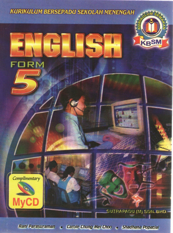 Buku Teks English Form 5 Textbook