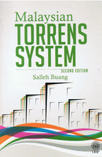 Load image into Gallery viewer, DBP: Malaysian Torrens System ( Second Edition )
