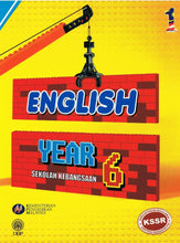 Load image into Gallery viewer, DBP: Buku Teks English Year 6 Textbook