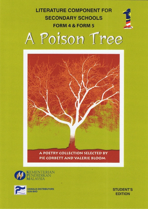 Buku Teks Komsas A Poison Tree Form 4 Literature Component Textbook