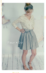 Static Extra Full Skirt with Sash | WOMENS' Small | Sample Sale