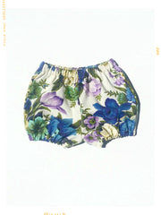 DOLLY'S BASKET | Girls' Bloomer Bubble Shorts | Limited Edition Vintage Cotton