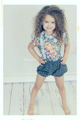 DOTTIE'S Bubble Shorts | Girls' Cotton Bloomers in Navy Blue
