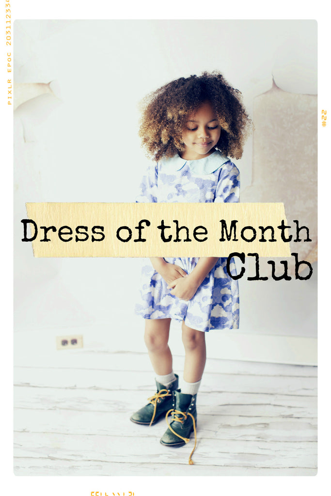 Dress of the Month CLUB | Girls' Cotton Dresses in Vintage Style Prints