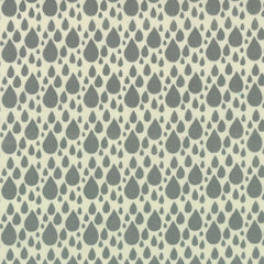Fleur and Dot organic cotton print in rain drop