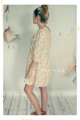 Women's English Tea Rose Dress | Small  + Large | Sample Sale