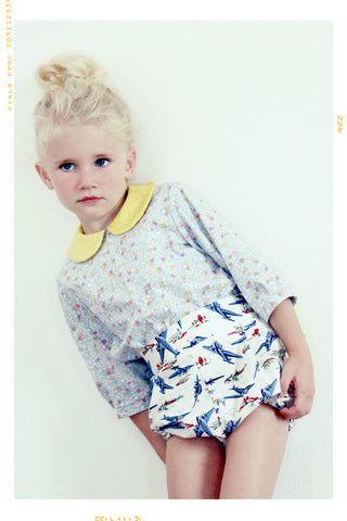 The Sunny Skies Peter Pan Collar Blouse. Limited Edition.