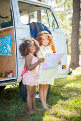 handmade vintage inspired children's apparel by Fleur + Dot in 18-24 months, 2T, 3T, 4T, 5, 6, 7 and 8.