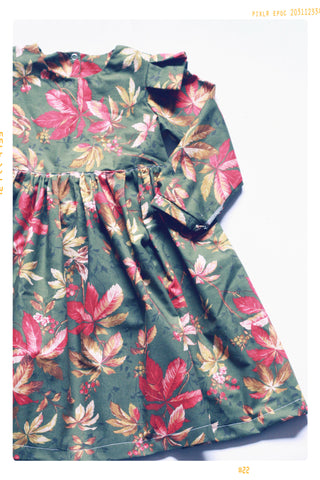 The Everly Forest Leaf Dress | Size 5 | Sample Sale