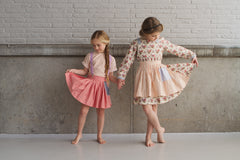 Vintage inspired children's apparel by Fleur + Dot. Modern. Handmade. Made in the USA.