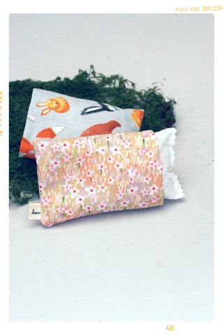 Woodland and Spring Floral Pillow Set