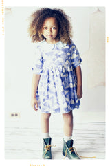 Fleur + Dot girls peter pan collar dress. vintage inspired and handmade
