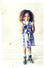 fleur + dot peter pan collar Cloud and Sky vintage girls cotton dress
