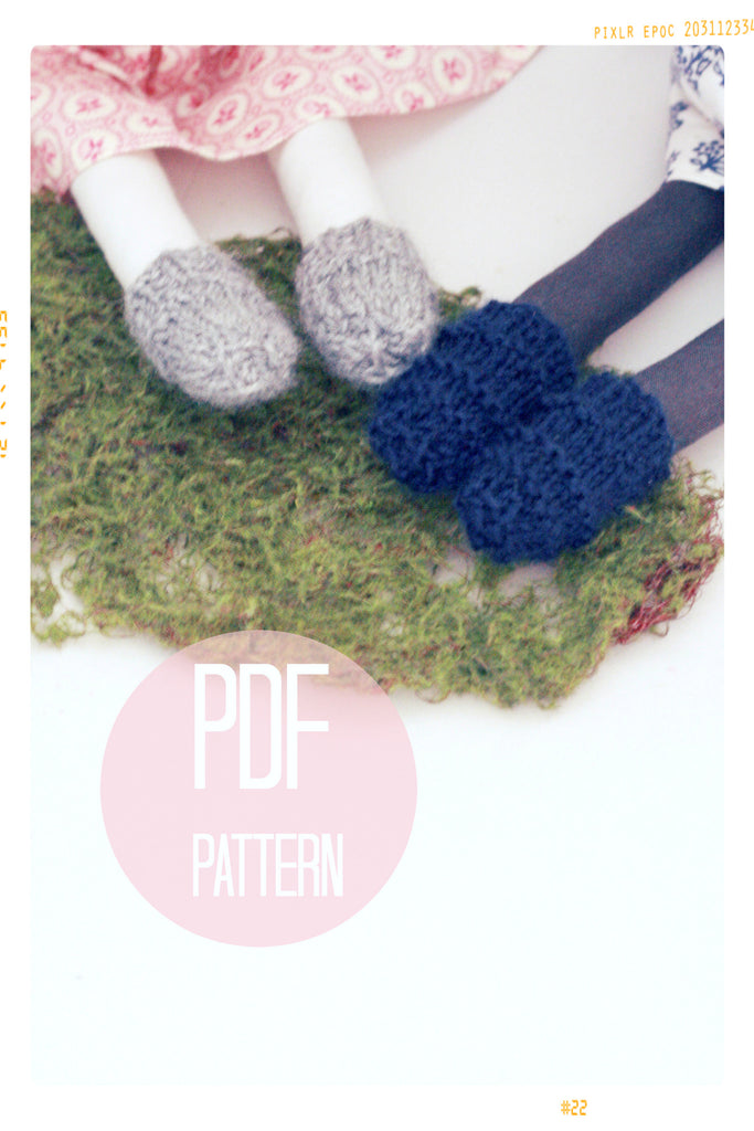 Gemma's Ankle Socks | Digital Pattern