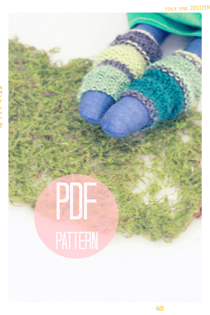 Mitzi's Leg Warmers (and Knee Socks) | Digital Pattern