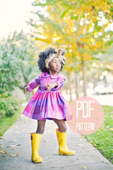 The Long Sleeve Peter Pan Collar Dress | Downloadable Sewing Pattern