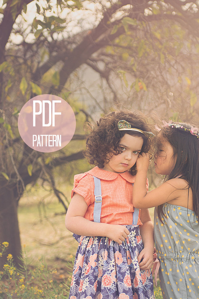 The Peter Pan Collar Blouse | Downloadable Sewing Pattern