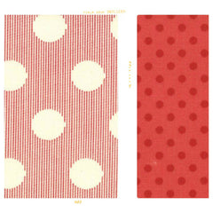 Pink polka dot and striped cotton for Fleur + Dot. Handmade childhoods. Vintage modern. Made in the USA using slow fashion.