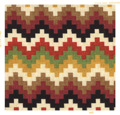 Desert zig zag chevron southwestern stripe cotton for fleur and dot