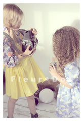 Handmade children's clothing in vintage inspired style by Fleur + Dot.