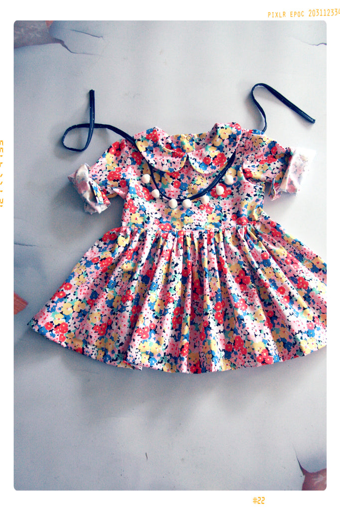 The Suzani Peter Pan Collar Dress | The Star Child Collection