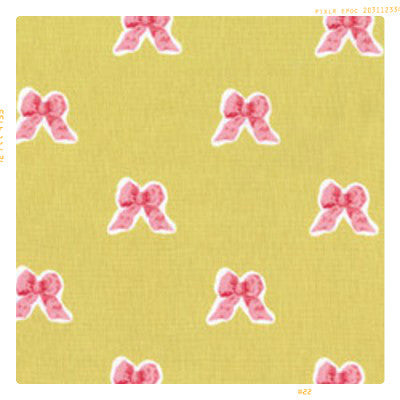 Vintage Bows | Cotton Fabric by the Yard