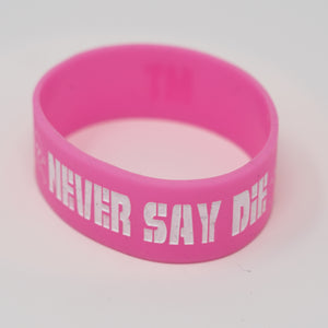 Never Say Die Tour Bracelet (random colour)