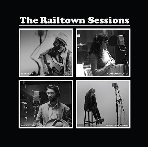 Railtown Sessions Vinyl. Volumes 1-4