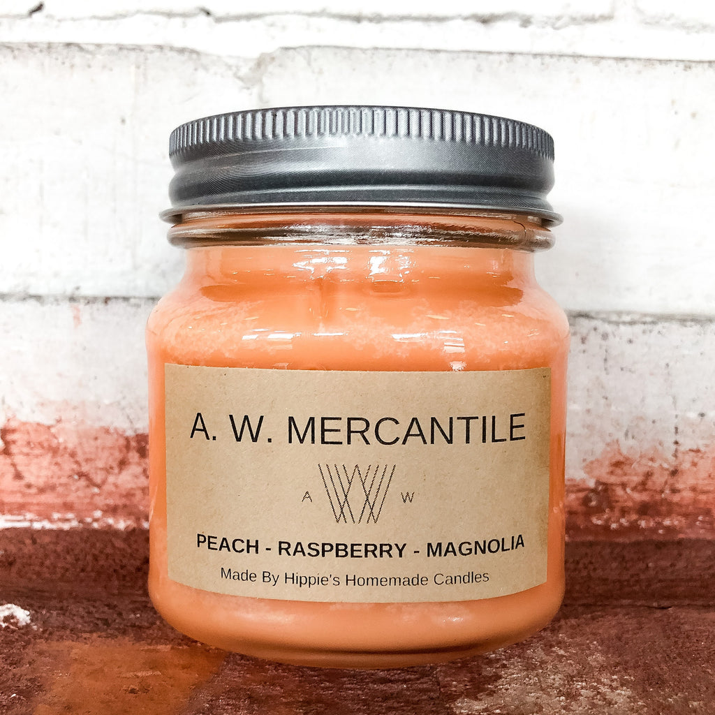 Peach Raspberry Magnolia Candle