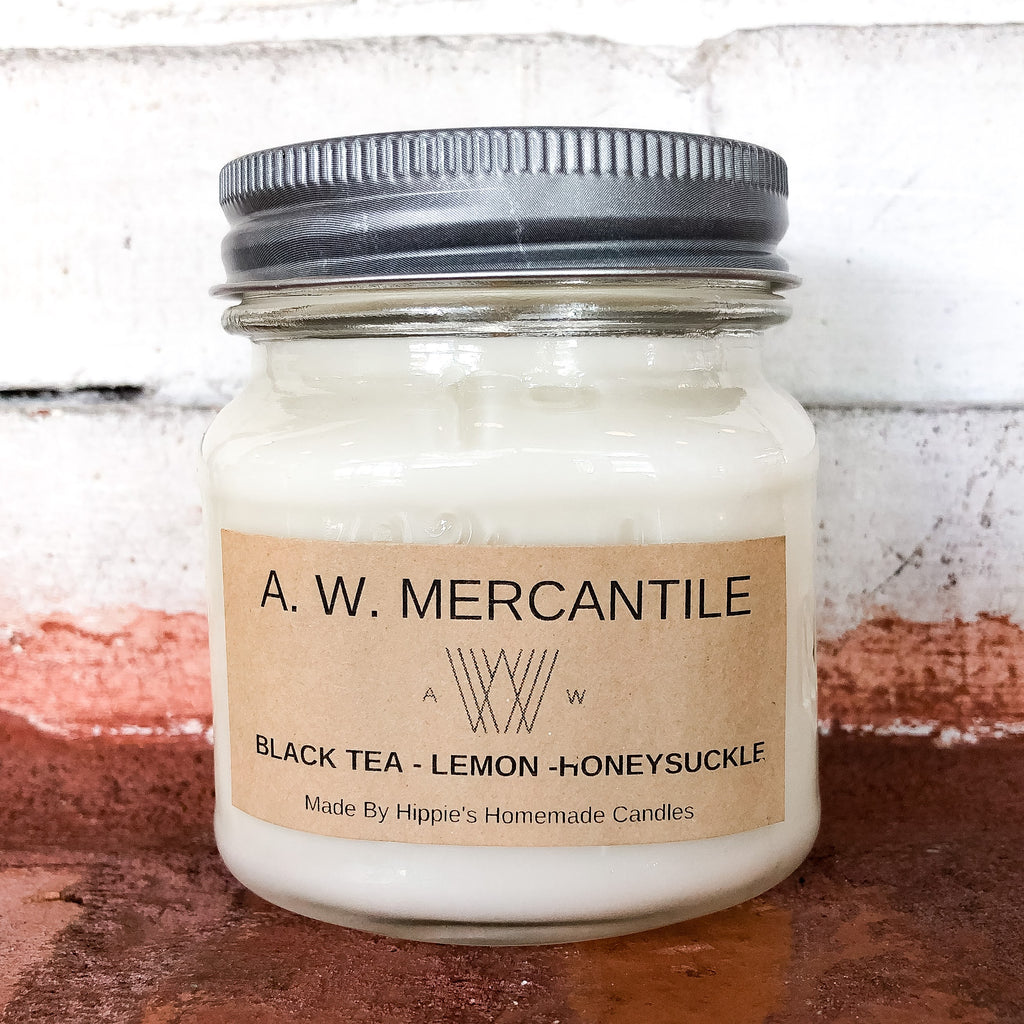 Black Tea, Lemon, & Honeysuckle Candle