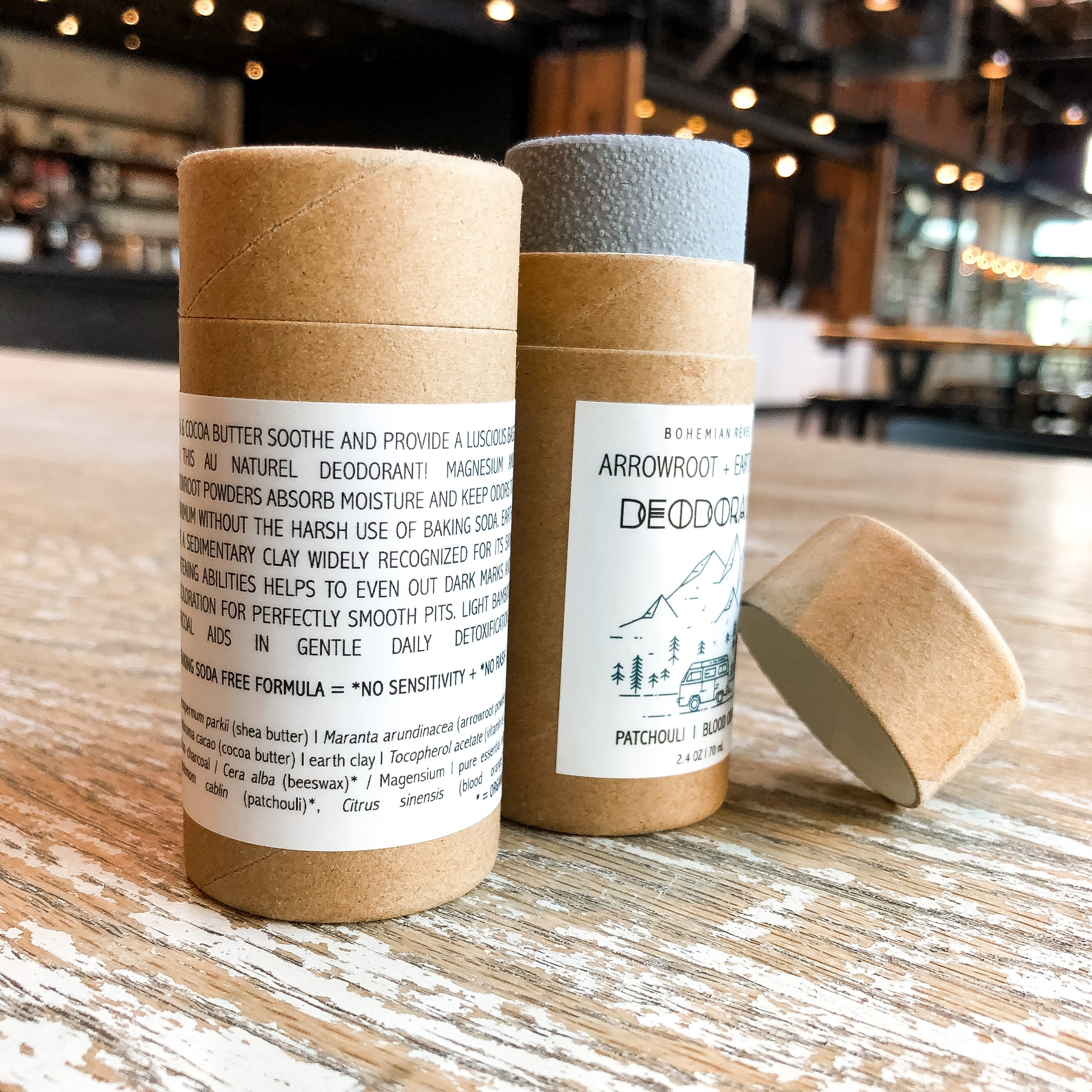 Arrowroot & Earth Clay Deodorant