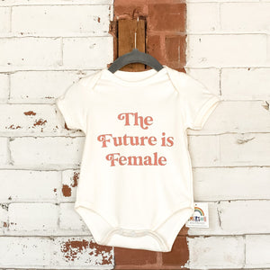 Future is Female Baby Onesie