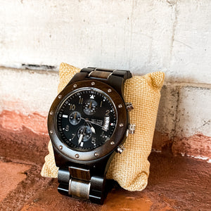 El Guardia Wooden Watch