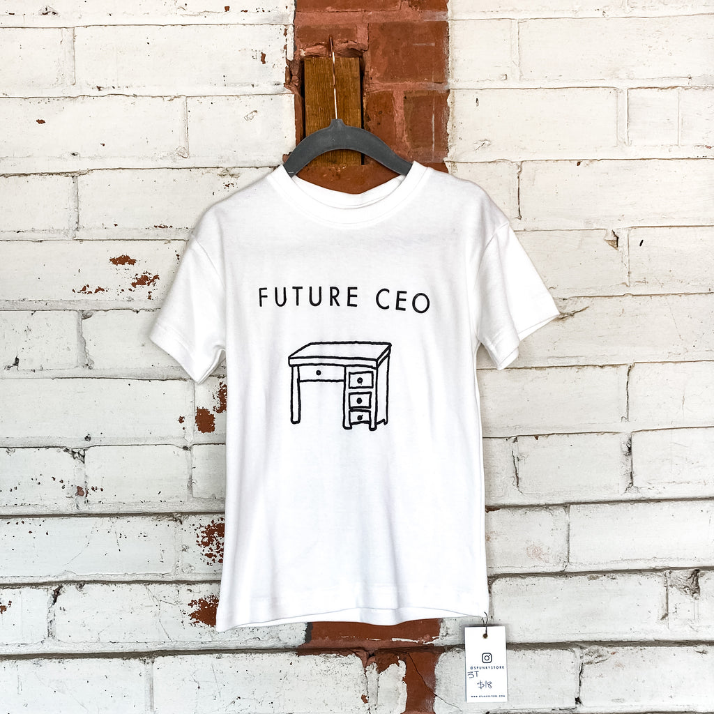 Future CEO Toddler Tee