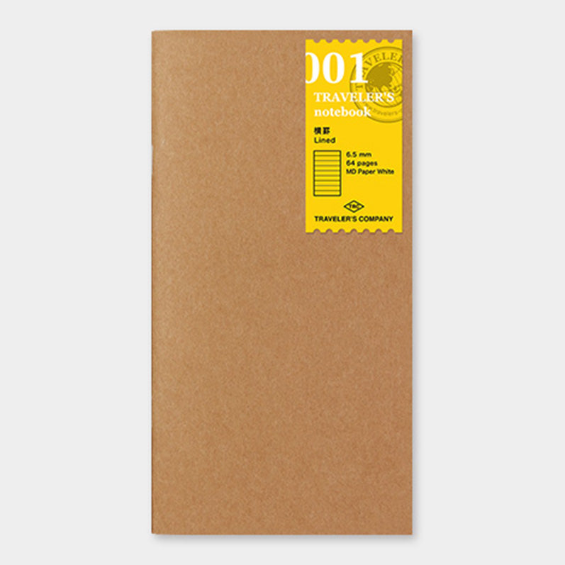 TRAVELER'S notebook Refill Lined notebook 001 - The Outsiders