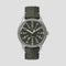 MK1 Steel 40mm Fabric Strap Khaki Watch - The Outsiders