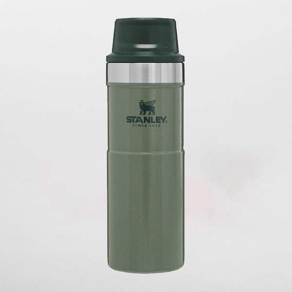 Stanley classic trigger-action travel mug hammertone green 0,47 liters