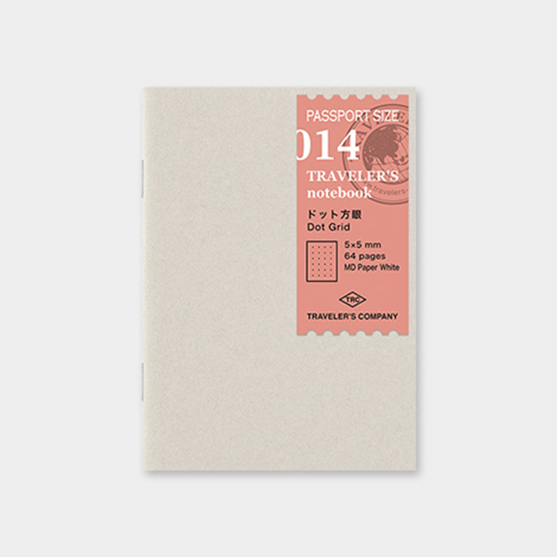 TRAVELER'S notebook Passport Size Refill Dot Grid 014 - The Outsiders