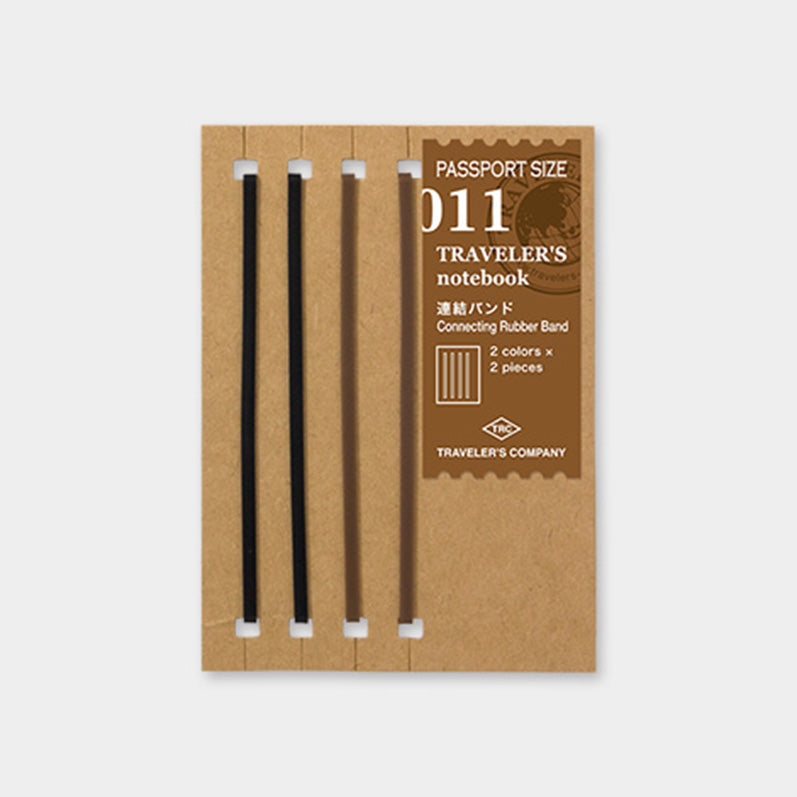 TRAVELER'S notebook Refill <Passport Size> Connecting Rubber Band 011 - The Outsiders
