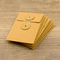 KRAFT ENVELOPE <S> Vertical with String Orange - The Outsiders