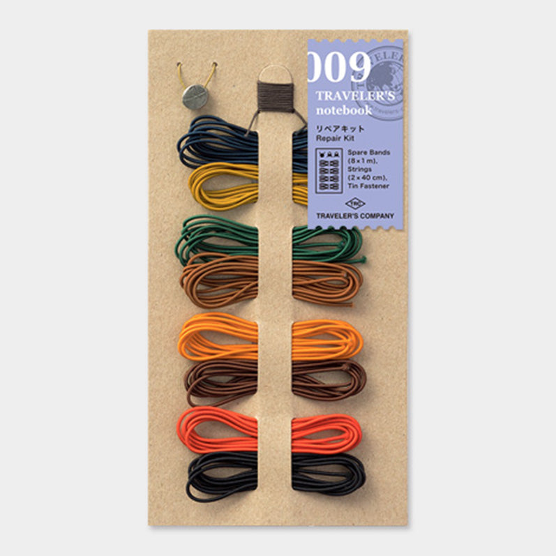 TRAVELER'S notebook Repair Kit 8 Colors 009 - The Outsiders