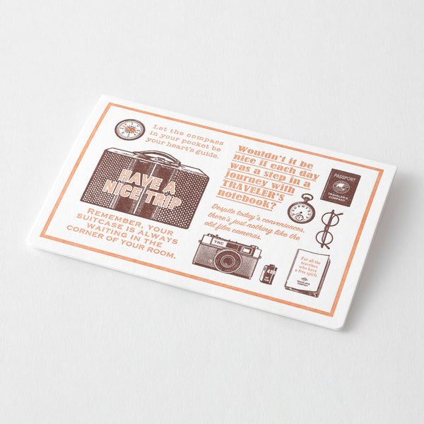 TF Letterpress Card Brown FO - The Outsiders